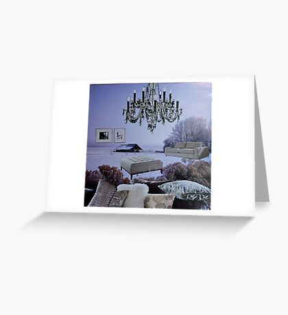 Just Throw In A Few Pillows Greeting Card