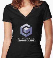 Gamecube Women's Fitted V-Neck T-Shirt