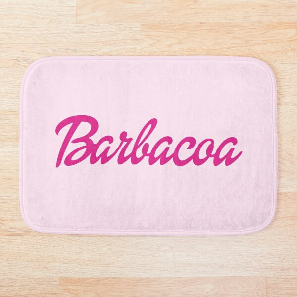 Barbacoa Barbie Bath Mat