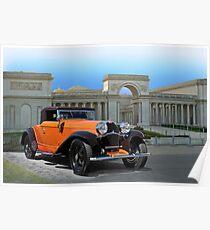 1930 Bugatti Convertible Coupe Poster