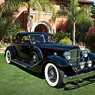 1930 Packard Twelve Custom Dietrich Coupe by DaveKoontz