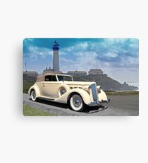 1935 Packard, Victoria Convertible Coupe Canvas Print