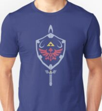Master Sword and Hylian Shield T-Shirt