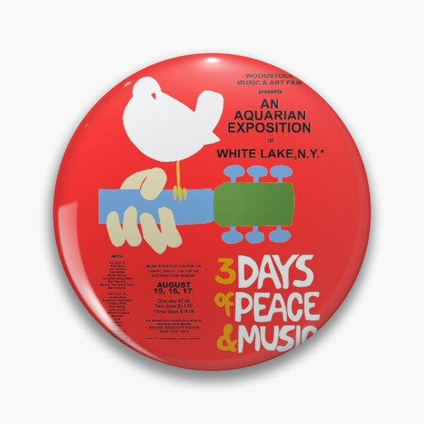 Woodstock Shirt, Sticker, Poster, Mask Pin