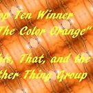 Top Ten - Orange Banner by quiltmaker