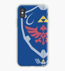 Vinilo o funda para iPhone Master Sword y Hylian Shield