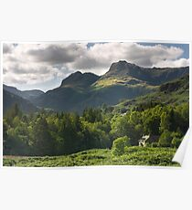 Langdale Pikes Poster