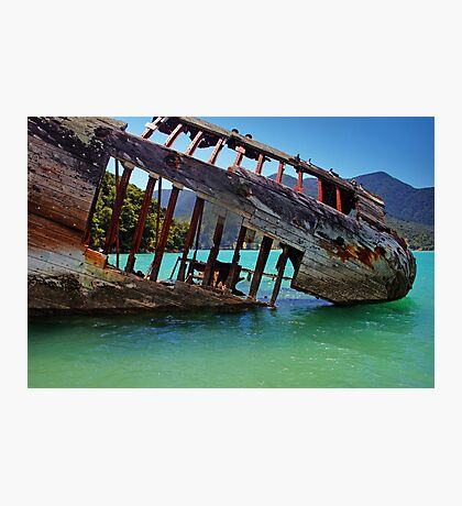 The Shipwreck Photographic Print