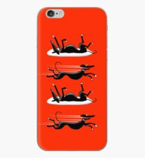 Zoomin' Snoozin iPhone (red) iPhone Case