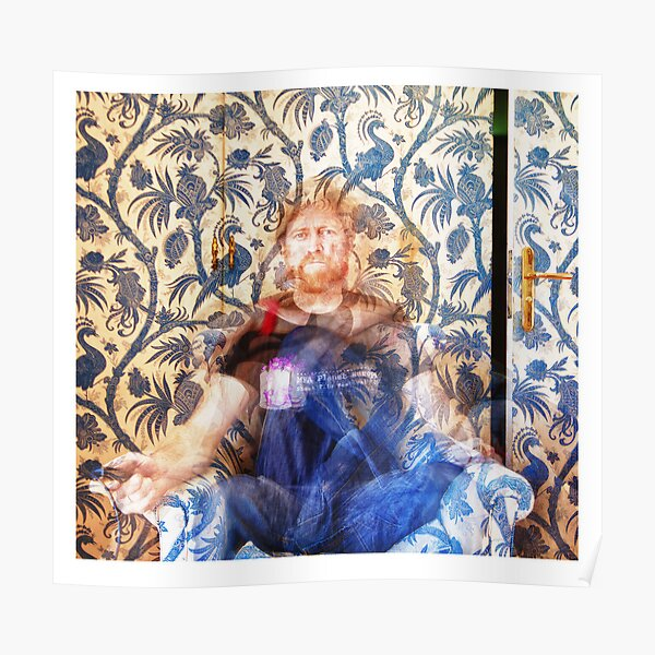 Seated Multiple Self Portrait  Poster