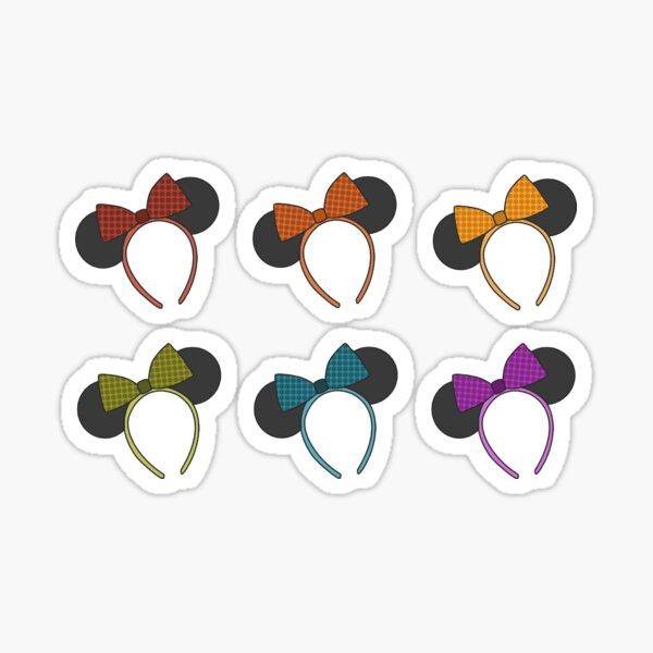 Mini Mouse Ears - Rainbow Pride Illustration Sticker