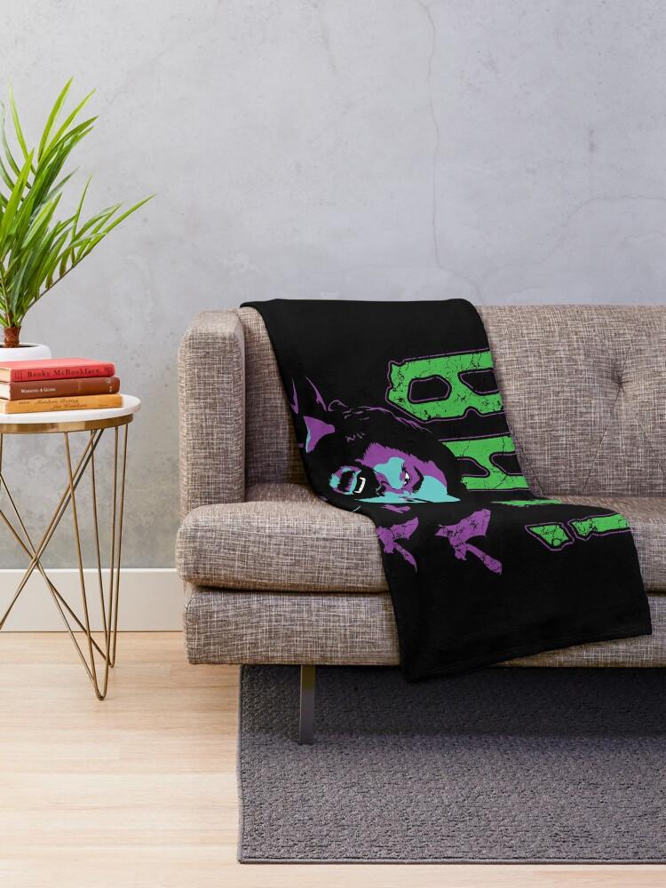 Alternate view of BAT! Throw Blanket
