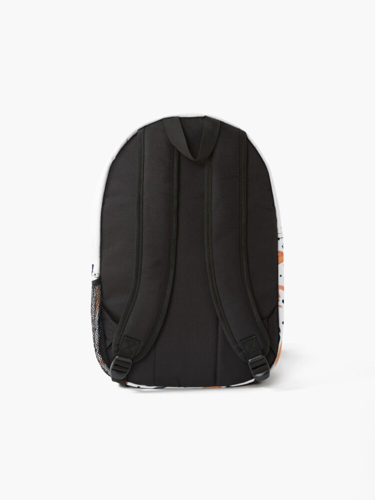 Alternate view of The Sirens-- White Backpack