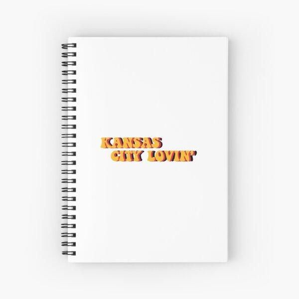 kansas city lovin' Spiral Notebook