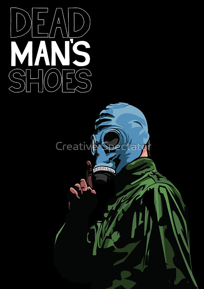 Dead Man's Shoes Comic Style Illustration by Creative Spectator