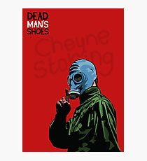 Dead Man's Shoes Paddy Considine Comic Style Illustration Photographic Print