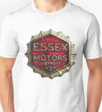 Vintage Detroit Essex Motors Badge Unisex T-Shirt