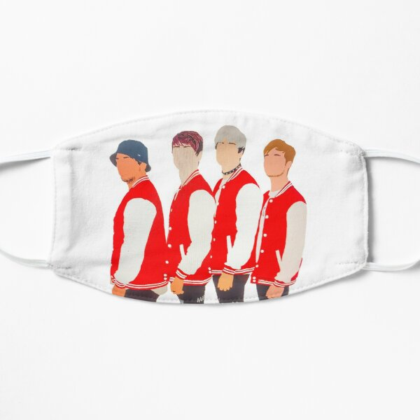 Sam and Colby; Jake and Corey (Trap House Boys) Flat Mask