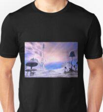 Frozen Alien Landscape T-Shirt