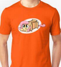 Fluttershy in a box Unisex T-Shirt