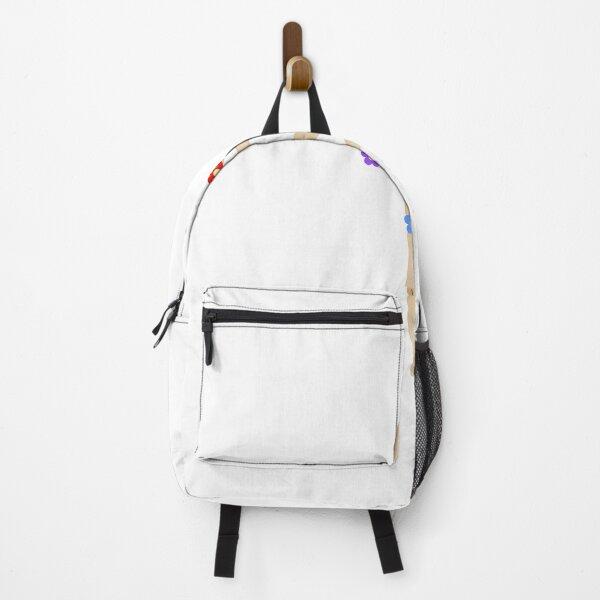 Flower Manikin Figure Backpack