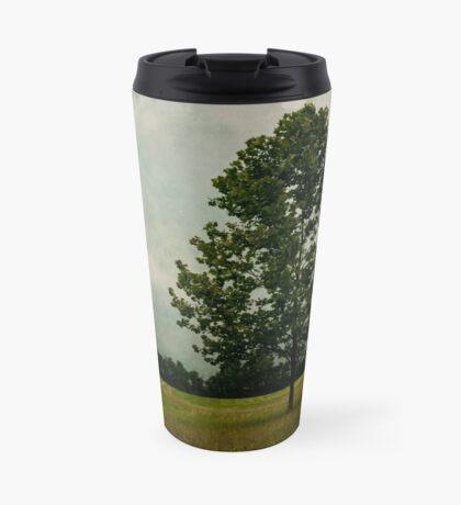 Lone Tree with Birds Travel Mug