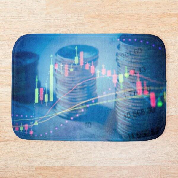 Mercados, el juego del dinero Alfombra de baño