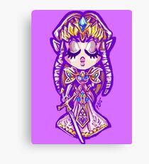 Chibi Princess Zelda Canvas Print