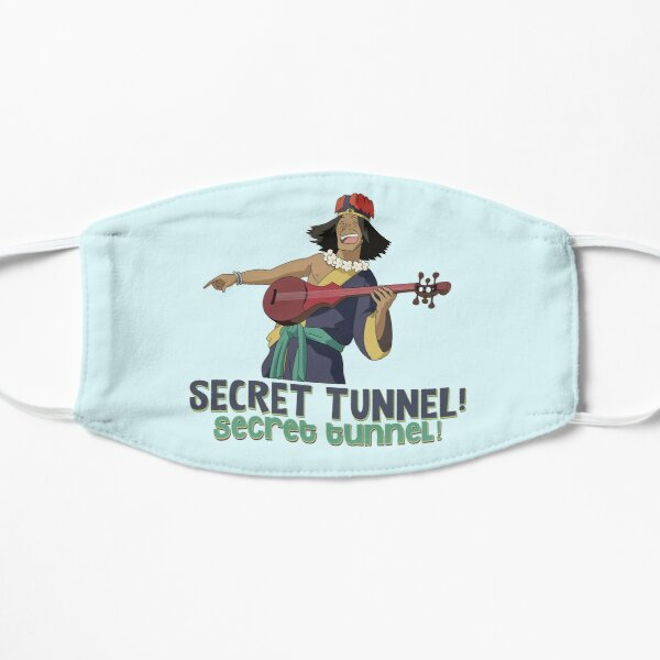 SECRET TUNNEL! SECRET TUNNEL! WITH CHONG FROM AVATAR Mask