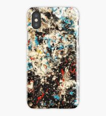 Number 101 Abstract by Mark Compton iPhone Case