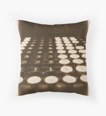 adding machine Throw Pillow
