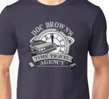 Doc Brown's Travel Agency Unisex T-Shirt