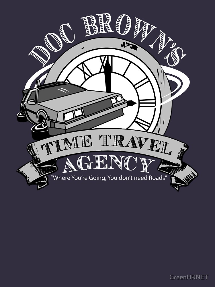 Doc Brown's Travel Agency | Unisex T-Shirt
