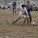 Soccer Action - The Mud Bowl by Jim Haley