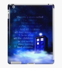 TARDIS on a Cloud iPad Case/Skin