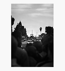 Space Shuttle on the Street Photographic Print
