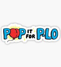 Pop it for P-lo Sticker
