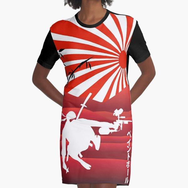 Ninja paintball Graphic T-Shirt Dress
