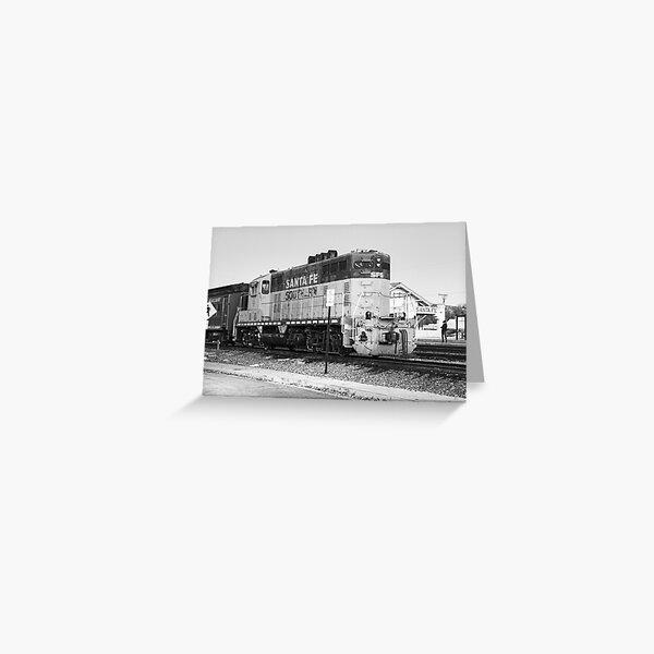 Sante Fe Trains Greeting Card