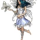 Snowflake Butterfly Fairy by algoldesigns