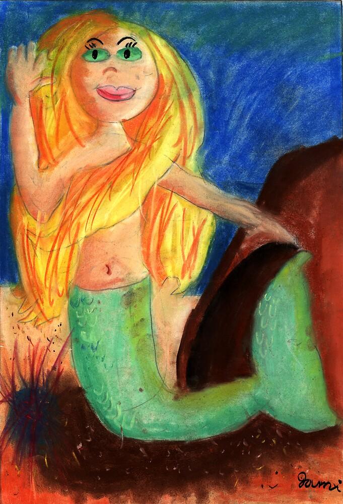 Princess of the Sea by Jami Cakes