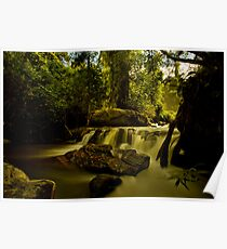 Waterfall long exposure Poster
