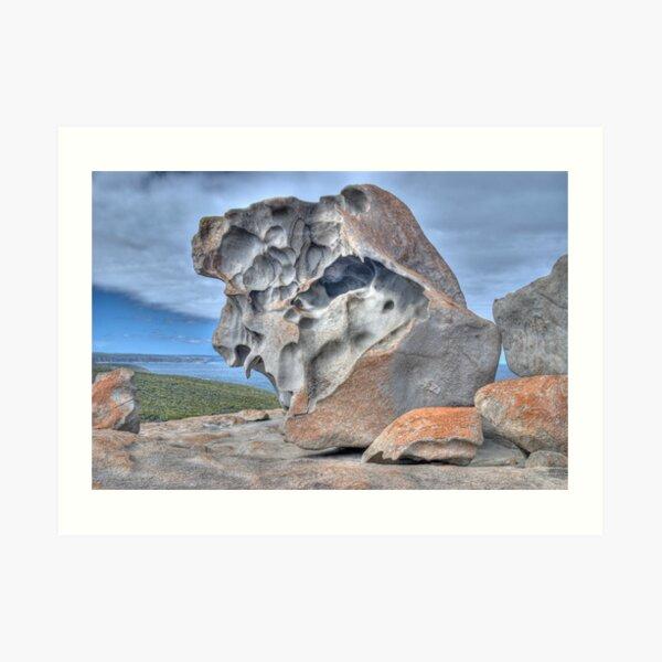 Remarkable Rocks, Kangaroo Island, South Australia Art Print