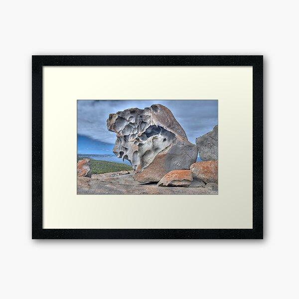 Remarkable Rocks, Kangaroo Island, South Australia Framed Art Print