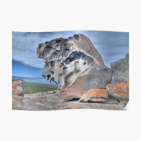 Remarkable Rocks, Kangaroo Island, South Australia Poster