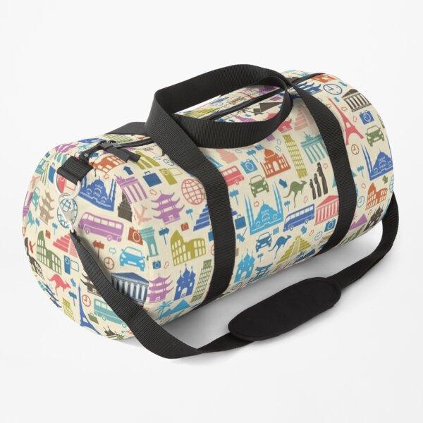 Ikonen des Reisens Sporttasche