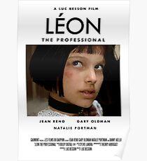 Leon movie poster Poster