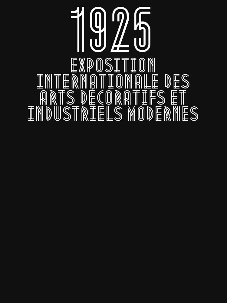 1925 Exposition Internationale des Arts Décoratifs et Industriels Modernes von FrontierMM