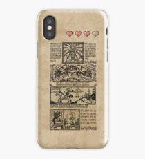 Windwaker Heroes Legend Tapestries (iPHONE 4 CAPSULE CASE ver) iPhone Case/Skin