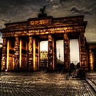 Brandenburger Tor of Berlin by Alexander Drum